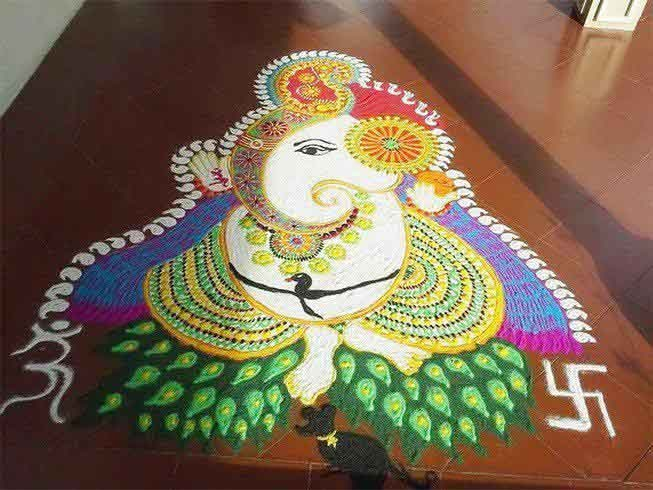 advance rangoli design allgyan